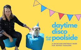Daytime Disco DJ Set: Backyard Bday BBQ