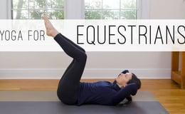 Yoga For Equestrians   Yoga With Adriene