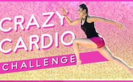Quick & Crazy Cardio Workout ☀ Summer Song Challenge #2 ☀