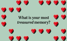 Question 17 What is your most treasured memory?