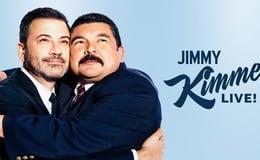 Jimmy Kimmel Live 2021 E32 Michael Peña, Ava Max
