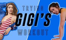 Gigi Hadid's No Equipment Travel Routine | Cassey Tries Celebrity Workouts