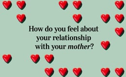 Question 24 How do you feel about your relationship with your mother?