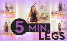 5 Minute Long Lean Legs