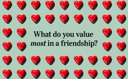 Question 16 What do you value most in a friendship?
