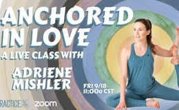 Anchored in Love Live Yoga Class