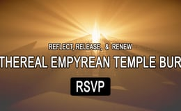 RSVP for the Temple Burn